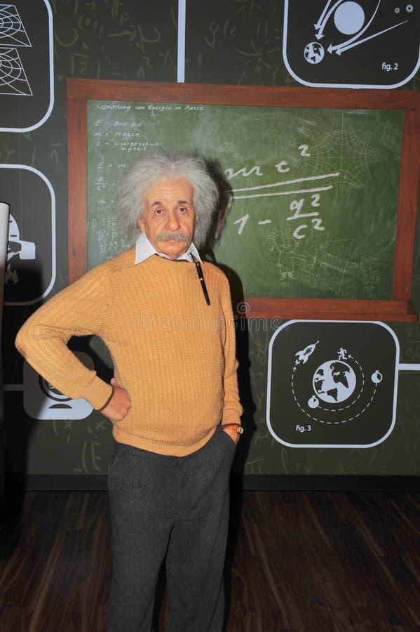 Albert Einstein ・诺贝尔物理学家获奖者 免版税库存照片