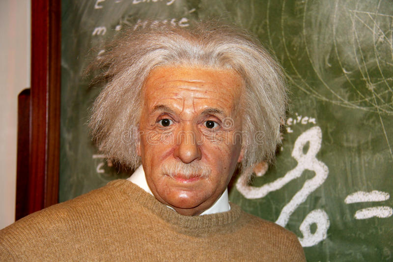 Albert Einstein immagine stock