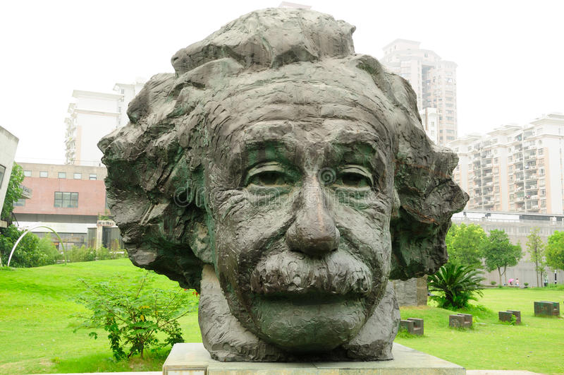 Albert Einstein imagem de stock