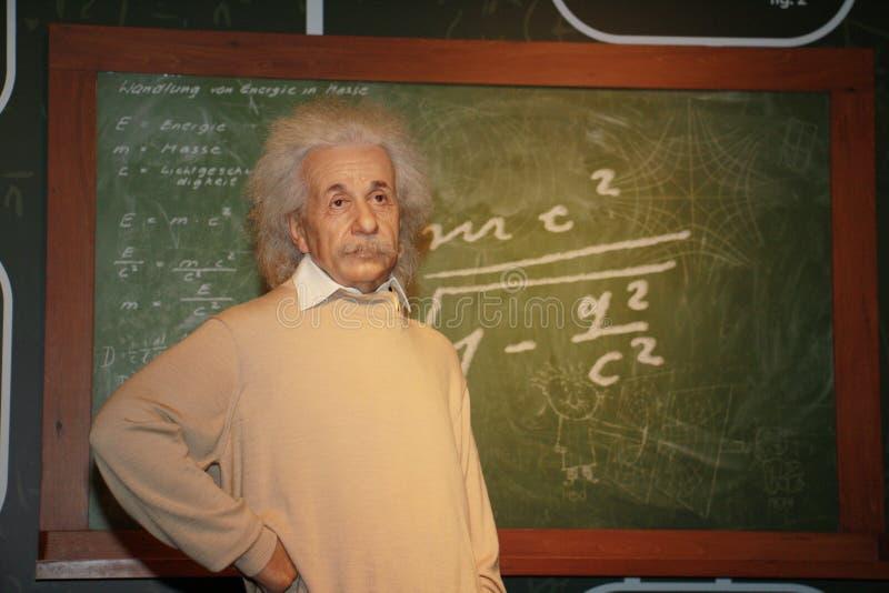 Albert Einstein fotografía de archivo libre de regalías