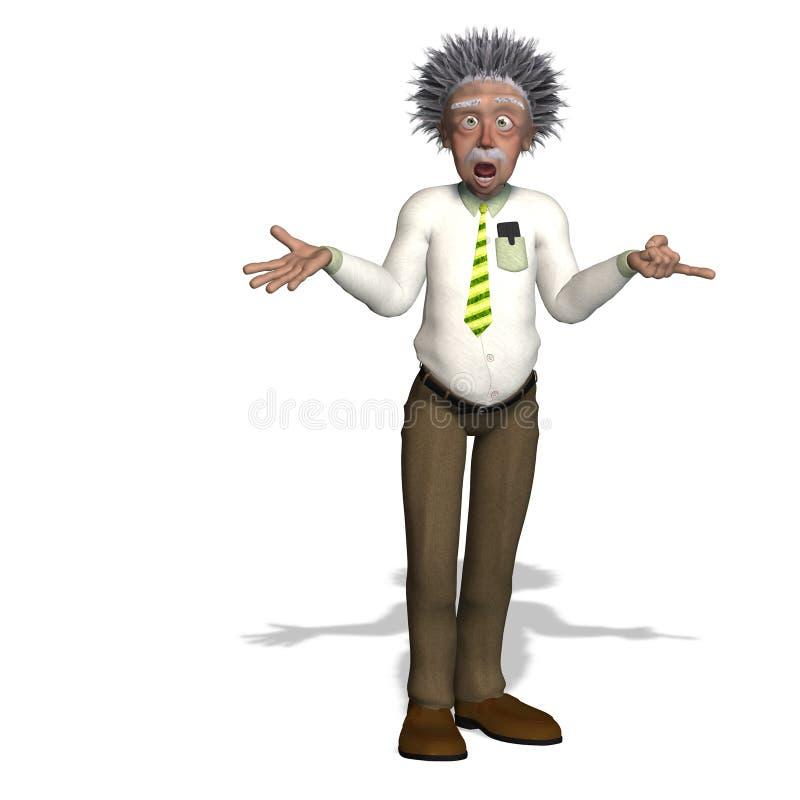 Albert Einstein lizenzfreie abbildung