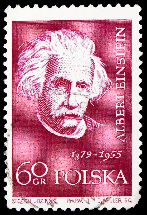 Albert Einstein, naukowa seria około 1959, obrazy stock