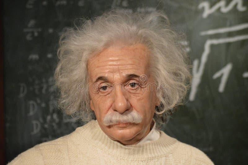 Albert Einstein, Physiker stockbild