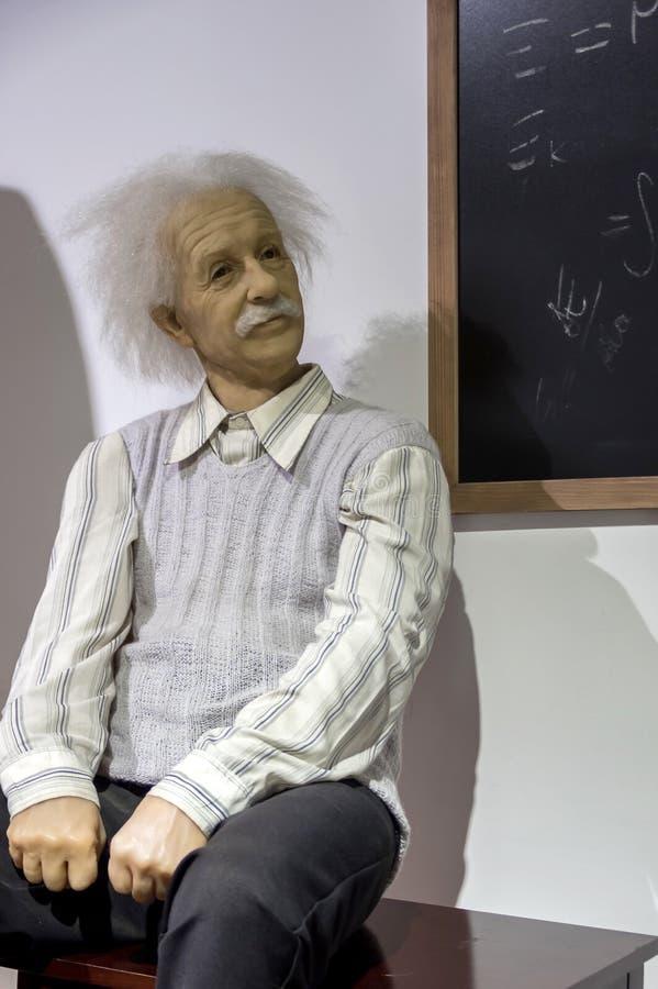 Albert Einstein statua fotografia royalty free