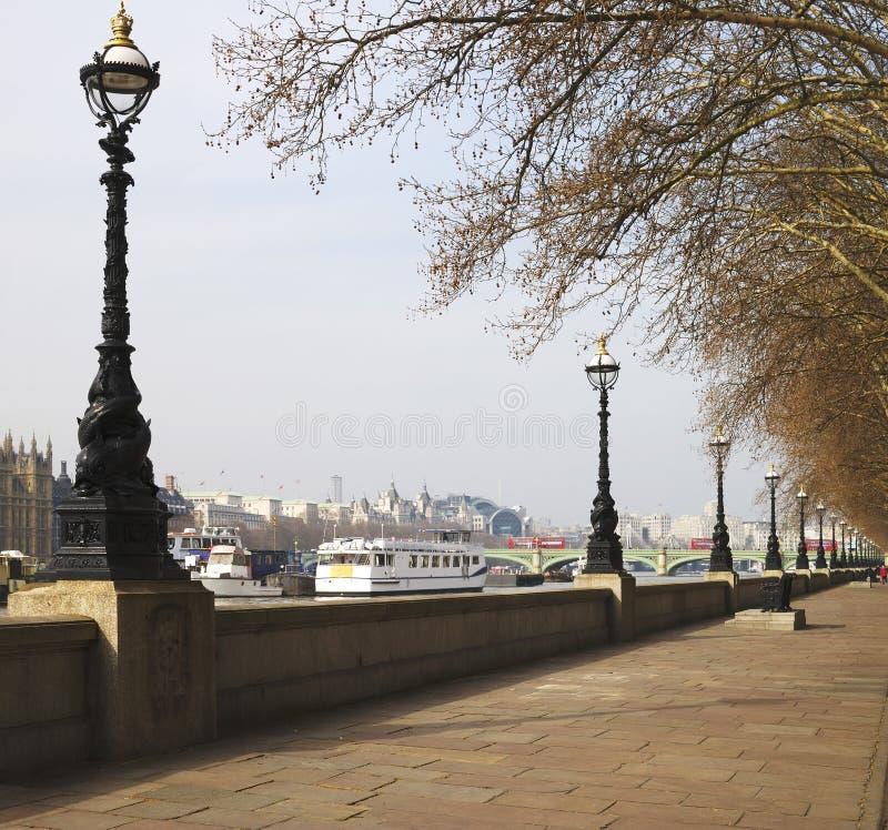 Free Albert Embankment. London. UK Royalty Free Stock Images - 24628609
