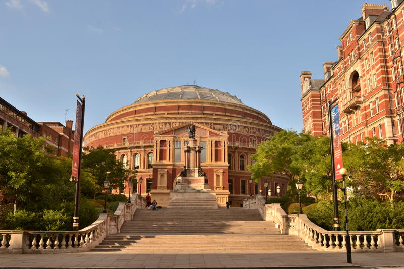 Albert Hall London royal photo libre de droits