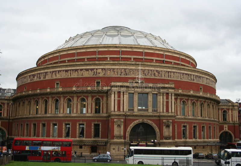 Albert Hall, Londres images stock