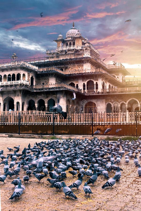 Albert hall museum Jaipur Rajasthan. Albert Hall Museum one if the heritage site in Jaipur Rajasthan royalty free stock photos