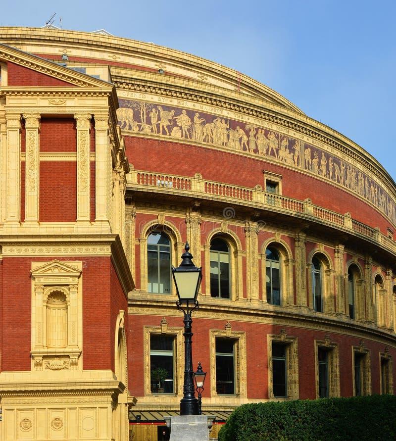 Albert Hall real, Londres, Reino Unido foto de archivo libre de regalías