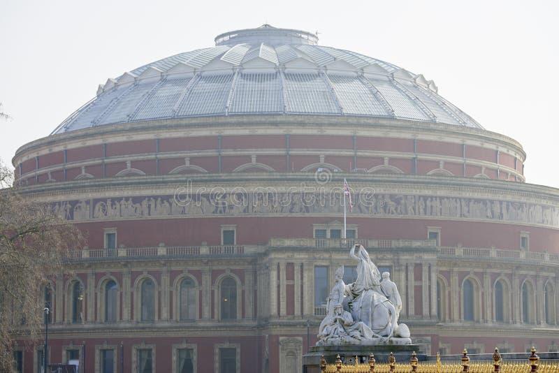Albert Hall royal flou photographie stock libre de droits