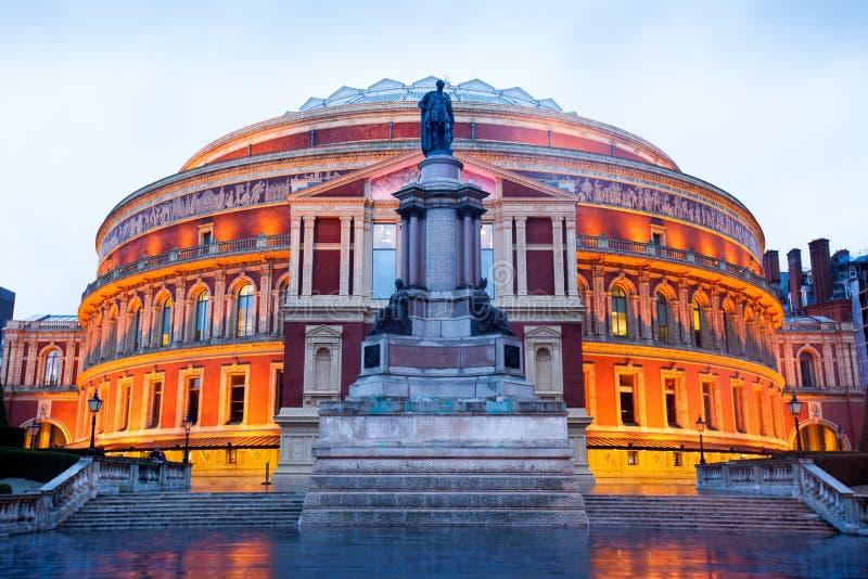 Albert Hall royal, théâtre d'opéra, à Londres images stock