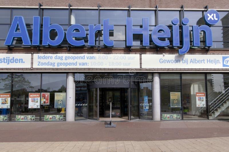 Albert-heijn Einzelhandelsgeschäft lizenzfreies stockfoto