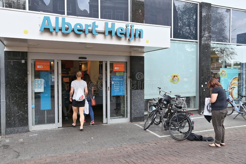 Albert Heijn store stock images
