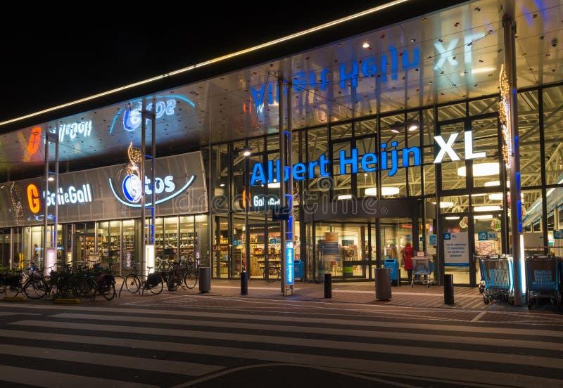 Albert Heijn supermarket royalty free stock images