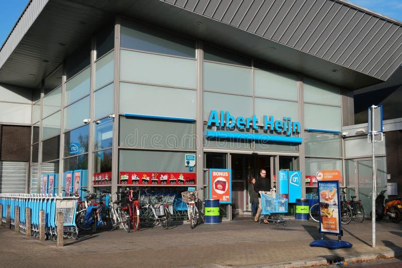 Albert Heijn Supermarket royalty free stock photo