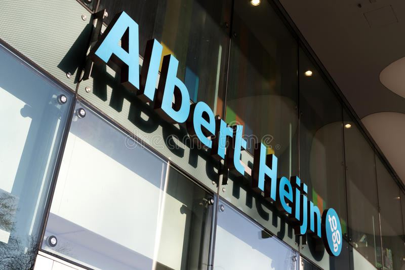 Albert Heijn to go convenience store royalty free stock photography