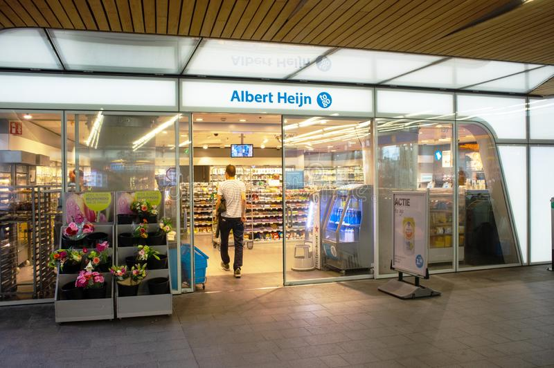 Albert Heijn To Go supermarket stock photo