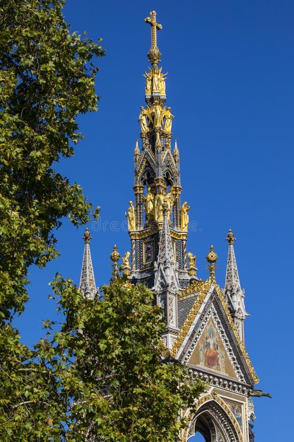 albert london minnesmärke royaltyfria bilder