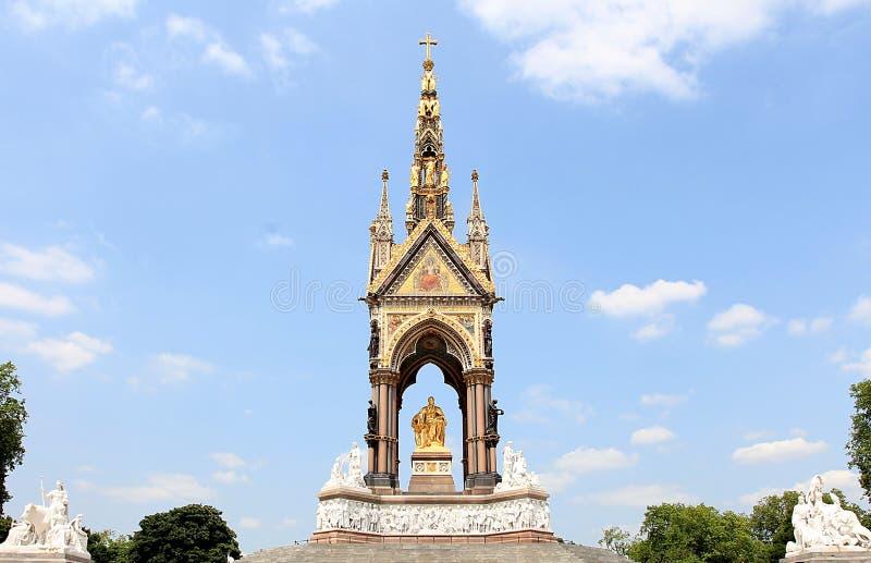 Albert Memorial imagen de archivo libre de regalías