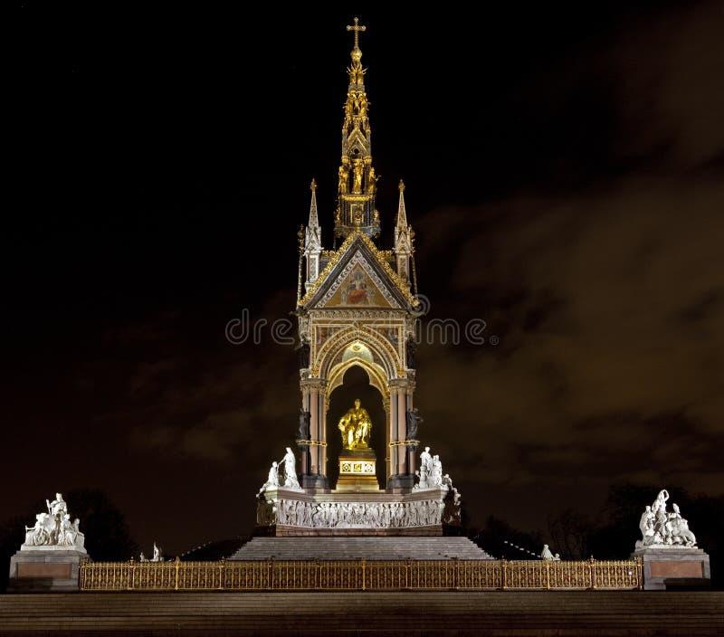 The Albert Memorial In Kensington Stock Photography