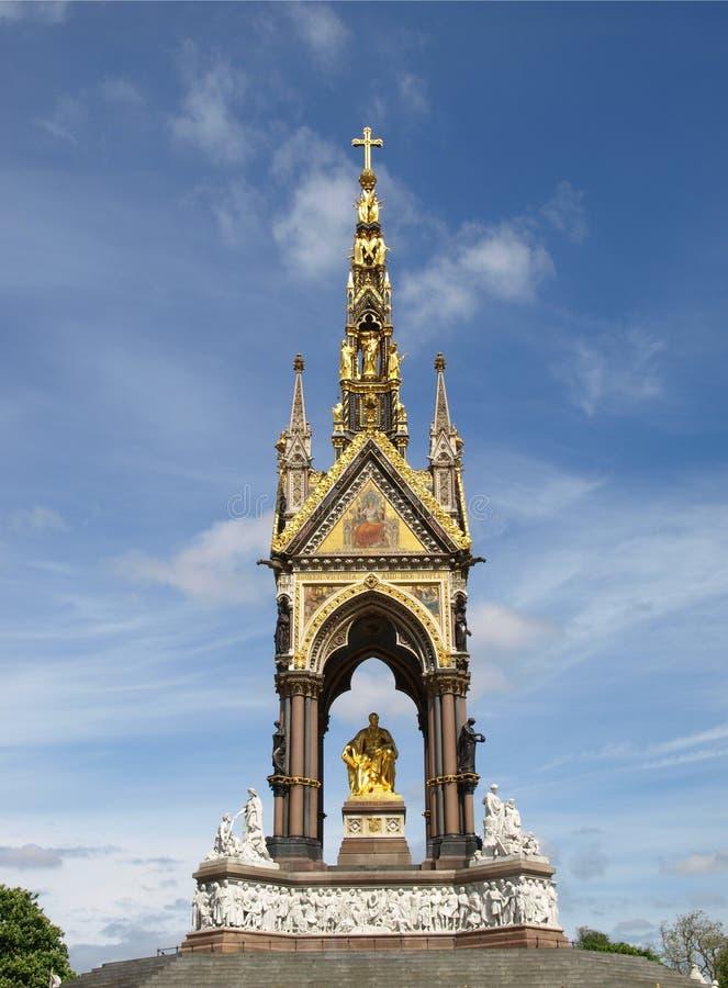 Albert Memorial, Londen stock foto