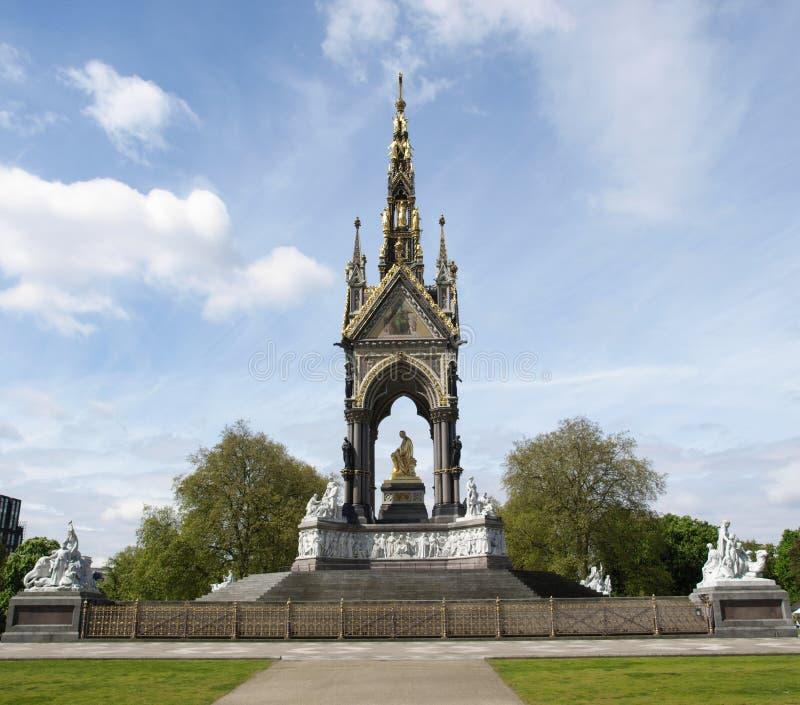 Albert Memorial, Londen royalty-vrije stock afbeelding