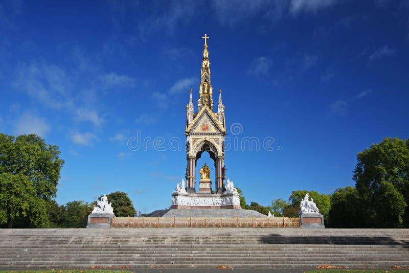 Albert Memorial in Londen royalty-vrije stock fotografie