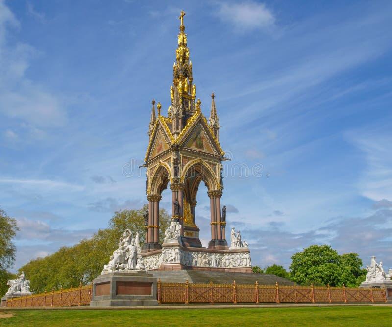 Albert Memorial, Londen stock foto's