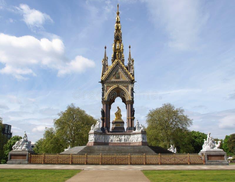 Albert Memorial, Londen royalty-vrije stock fotografie