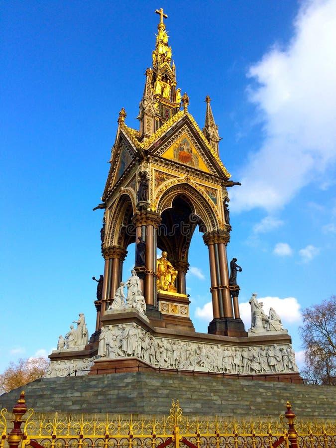 Albert Memorial London England arkivfoton