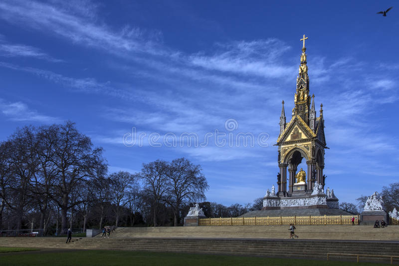 Albert Memorial - London - England stock photography