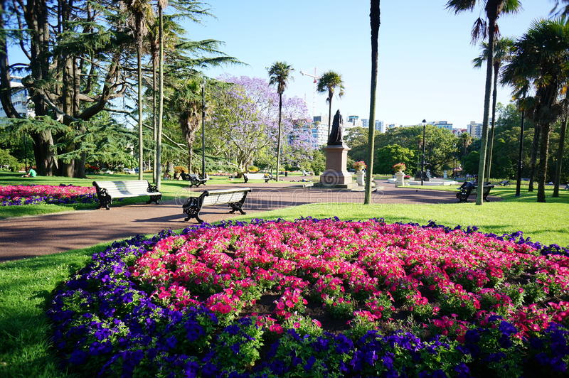 Albert Park foto de stock