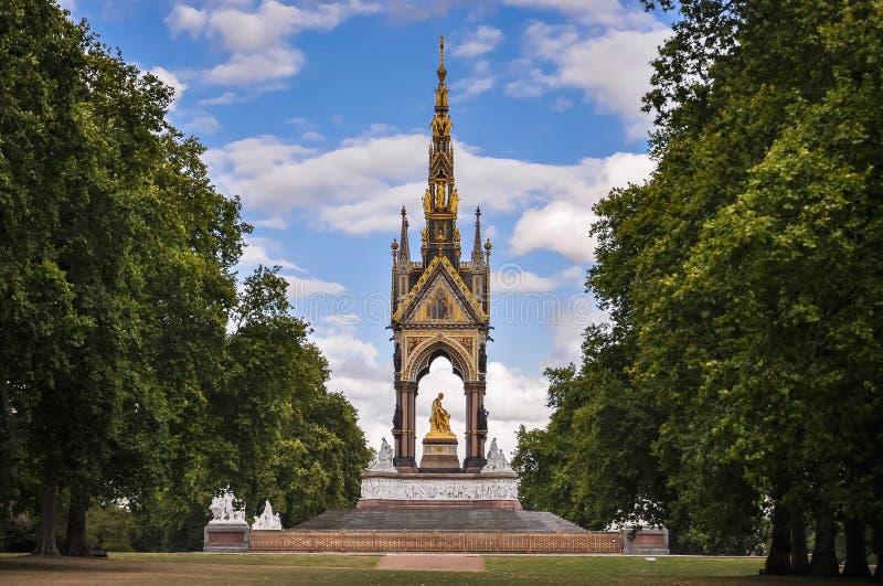 albert pomnik London zdjęcie royalty free