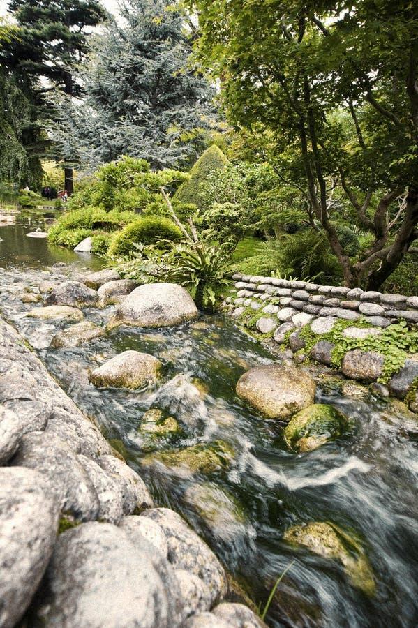 albert trädgårds- japanskt khan arkivbild