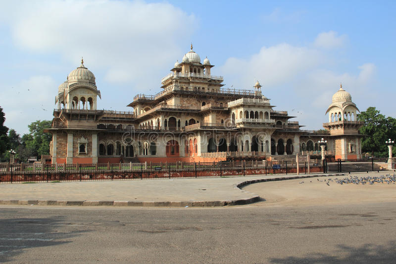 Albert w Jaipur Hall. obraz stock