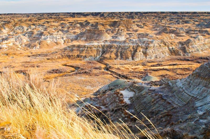 Download Alberta Badlands stock image. Image of formations, erosion - 23357417