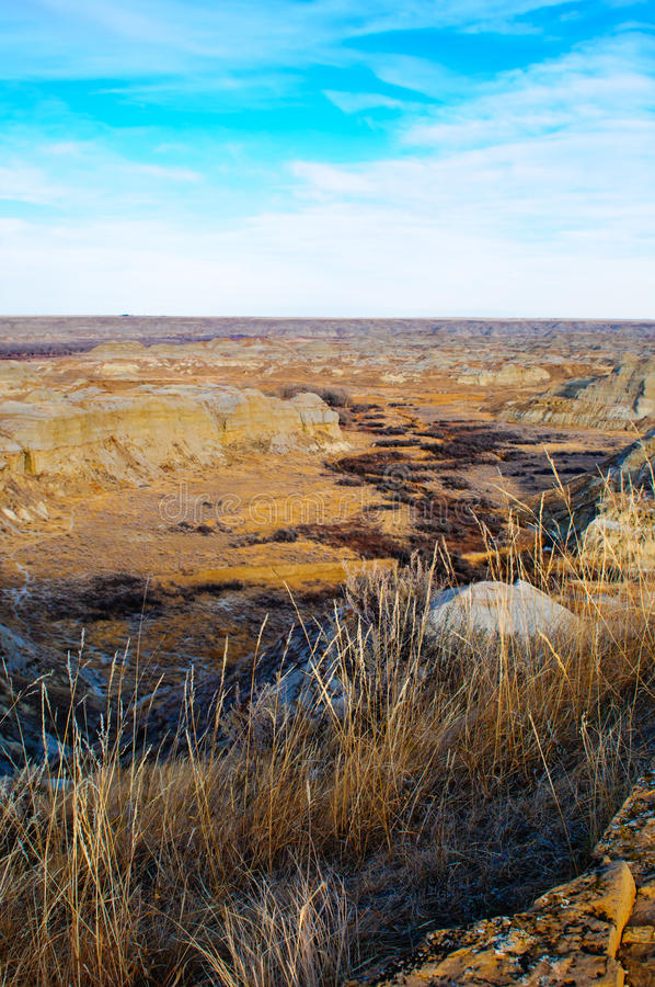 Download Alberta Badlands stock image. Image of stone, fossil - 23357469