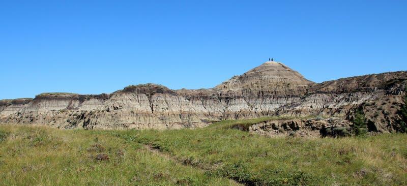 Alberta Badlands immagine stock