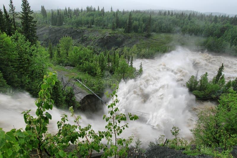 Alberta Flooding 2013 foto de stock