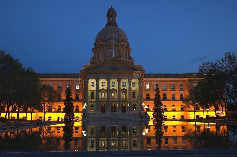 Alberta-Gesetzgebung, Edmonton stockfotos