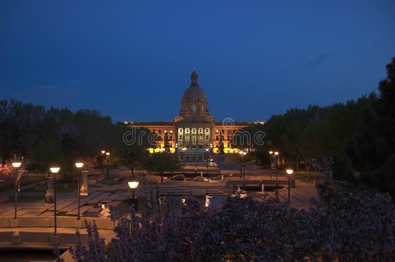 Alberta-Gesetzgebung, Edmonton lizenzfreie stockfotos