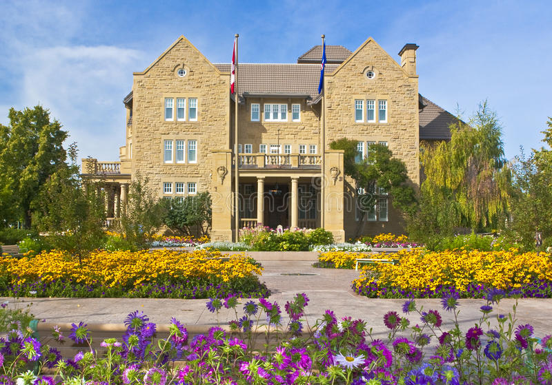 Alberta Government House royalty free stock image