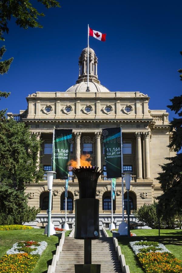 Alberta lagstiftande församlingbyggnad arkivfoto