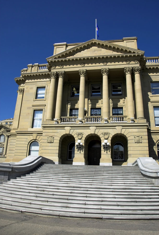 Download Alberta Legislature stock image. Image of legislate, alberta - 5343679