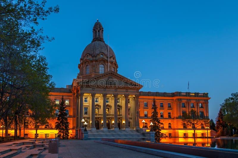 Alberta Legislature stockbilder