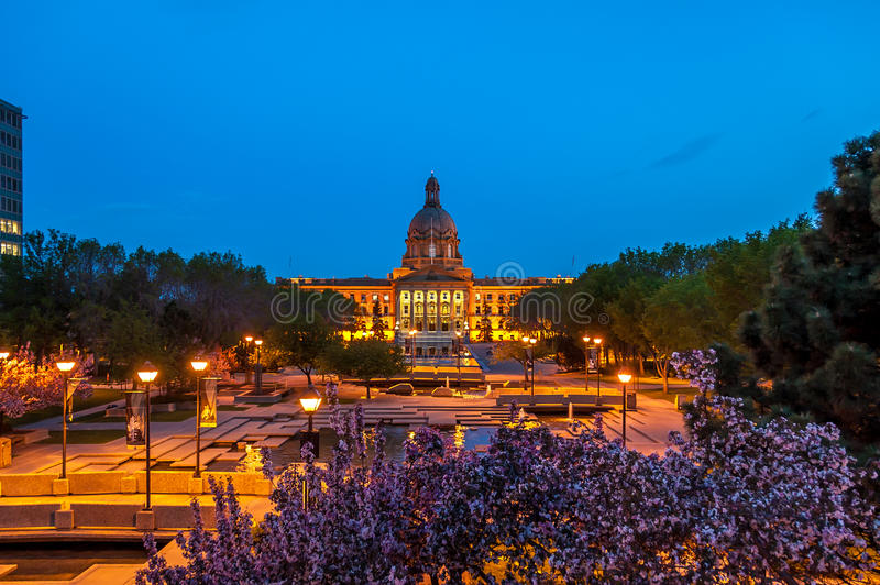 Alberta Legislature photo stock