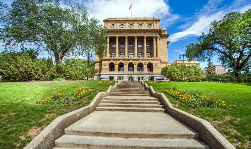 Alberta Legislature Building Edmonton Canada imagen de archivo