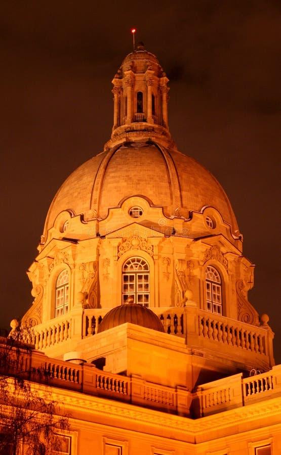 Download Alberta Legislature Building At Night Stock Photo - Image: 6248040