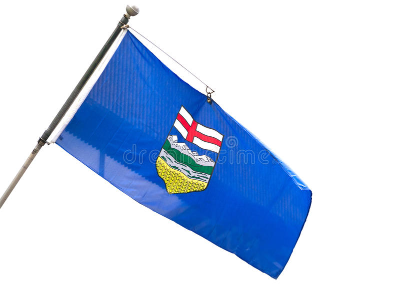 Download Alberta Provincial Flag stock photo. Image of arms, white - 31552704
