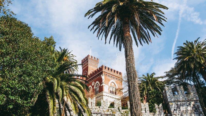 Alberti Castle στη Γένοβα Ιταλία στοκ φωτογραφίες